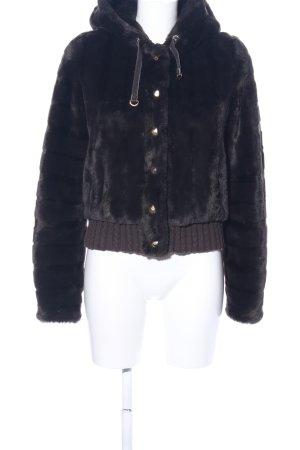 Juicy Couture Kapuzenjacke schwarz Casual-Look