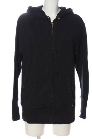 Juicy Couture Sweat à capuche noir style décontracté
