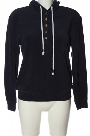 Juicy Couture Hooded Sweatshirt black casual look