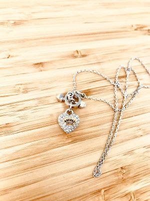 Juicy Couture Necklace silver-colored-gold-colored