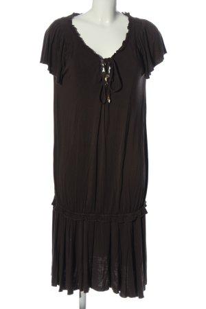 Juicy Couture Shortsleeve Dress brown casual look