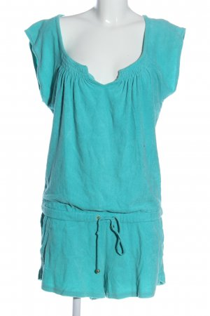Juicy Couture Kurzer Jumpsuit turquoise casual look
