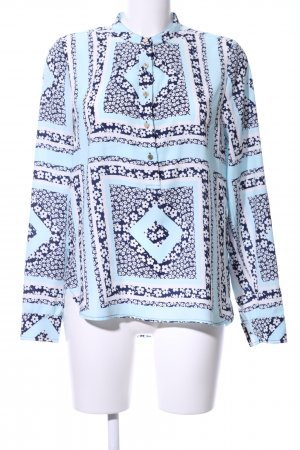 Juicy Couture Langarm-Bluse abstraktes Muster Casual-Look