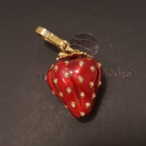 Juicy Couture limited Edition Erdbeere Charm Anhänger
