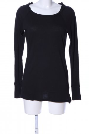 Juicy Couture Longsleeve schwarz-creme Motivdruck Casual-Look