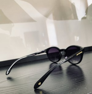 Juicy Couture Oval Sunglasses black