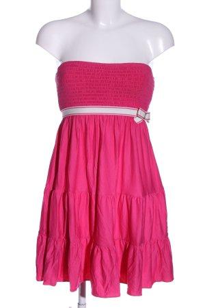 Juicy Couture Sukienka mini różowy-biały W stylu casual