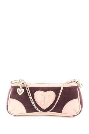 Juicy Couture Minitasche braun-wollweiß Casual-Look
