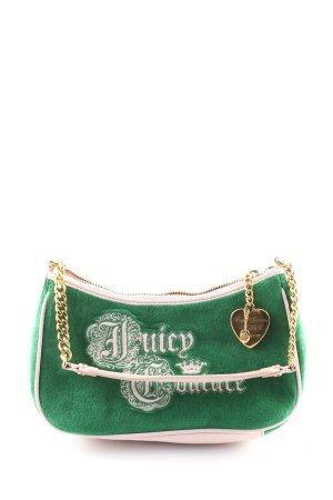 Juicy Couture Minibolso verde-crema elegante
