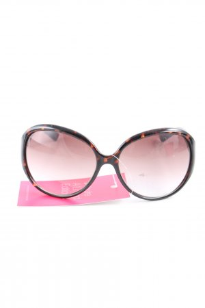 Juicy Couture ovale Sonnenbrille Allover-Druck Casual-Look