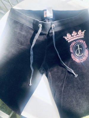 Juicy Couture Pantalon 7/8 noir-or rose
