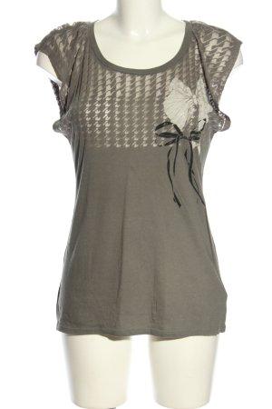 Juicy Couture Print-Shirt hellgrau Motivdruck Casual-Look