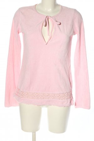 Juicy Couture Schlupf-Bluse pink Casual-Look