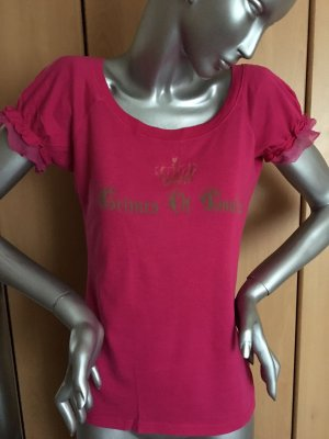 Juicy Couture Shirt pink in Gr. L