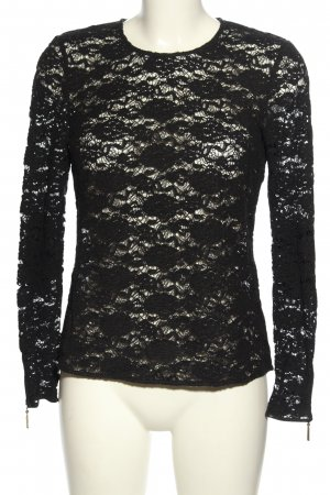Juicy Couture Spitzenbluse schwarz Elegant
