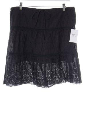Juicy Couture Spitzenrock dunkelblau Casual-Look