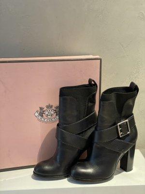 Juicy Couture Buty z krótką cholewką na platformie czarny