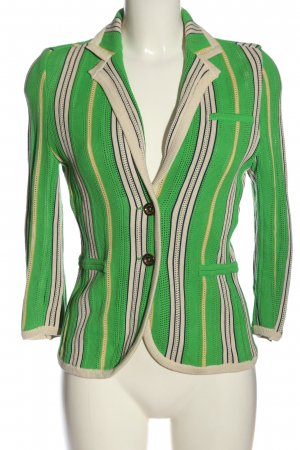 Juicy Couture Knitted Blazer striped pattern casual look