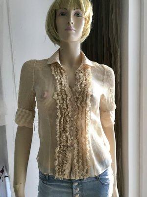 Juicy Couture Blusa in seta giallo chiaro Seta