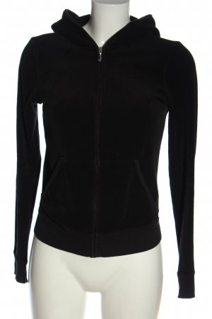 Juicy Couture Giacca fitness nero stile casual