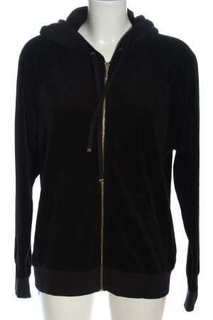 Juicy Couture Veste sweat noir style décontracté