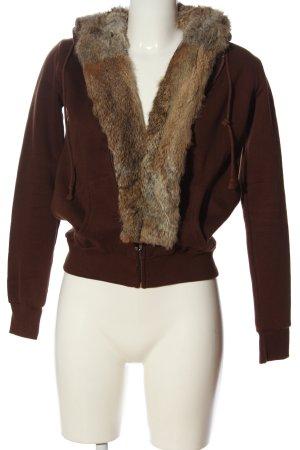 Juicy Couture Sweatjacke braun Casual-Look