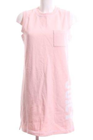Juicy Couture Sweatkleid pink Schriftzug gedruckt Casual-Look
