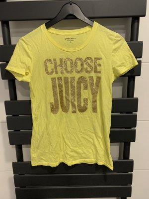 Juicy Couture T-Shirt yellow-gold-colored