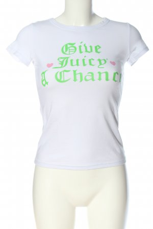Juicy Couture T-Shirt themed print casual look