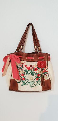Juicy couture terry floral tote Tasche terry