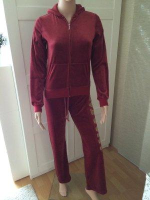 Juicy Couture Strój domowy purpurowy-głęboka czerwień