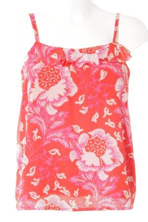 Juicy Couture Top met spaghettibandjes bloemenprint casual uitstraling