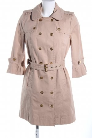 Juicy Couture Trench Coat nude casual look