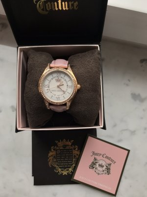 Juicy Couture Uhr rosa/roségold Neu