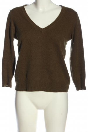 Juicy Couture V-Ausschnitt-Pullover braun Casual-Look