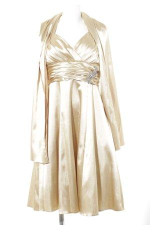 Juju & Christine Abendkleid goldfarben Elegant