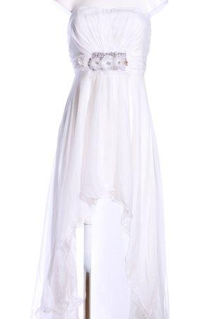 Juju & Christine Vokuhila-Kleid weiß Elegant
