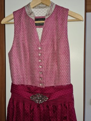 CS Couture Dirndl purpurowy