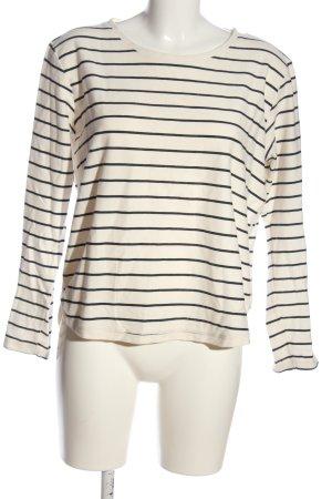 Julia Brown Ringelshirt weiß-schwarz Streifenmuster Casual-Look