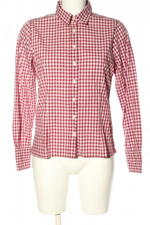 Julia Preston Checked Blouse red-white check pattern casual look