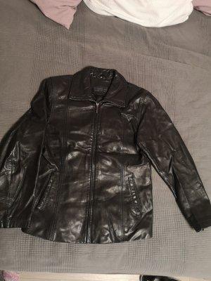 Julia S. Roma schwarze Lederjacke