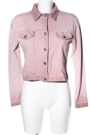 Julia Wang Jerseyblazer pink Casual-Look