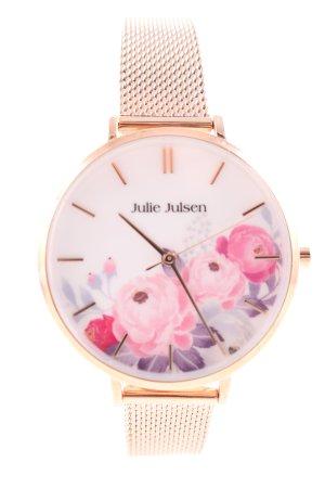 Julie Julsen Analoog horloge goud zakelijke stijl