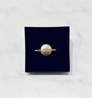 Anello d'argento oro