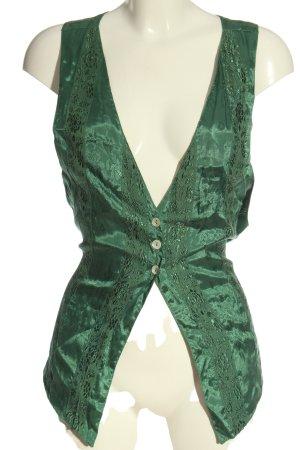 JULIEN Waistcoat green elegant