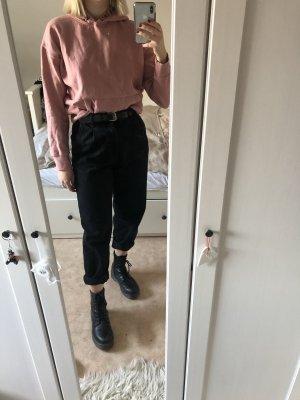 Pull à capuche rose