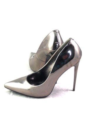 Juliet © Pumps Damen Schuhe Party High Heels 39 Platinum Gold