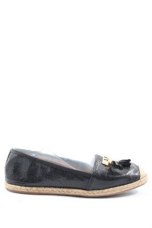 Juliet Espadrille Sandals black-cream elegant