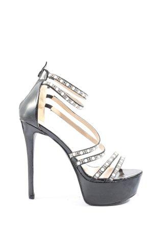 Juliet High Heel Sandaletten schwarz Elegant