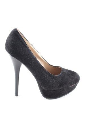 Juliet High Heels schwarz Casual-Look